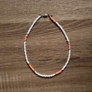 Seed Bead Surfer Necklace